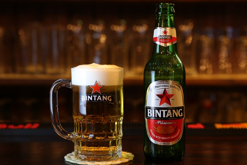 インドネシアビールの定番ビンタン